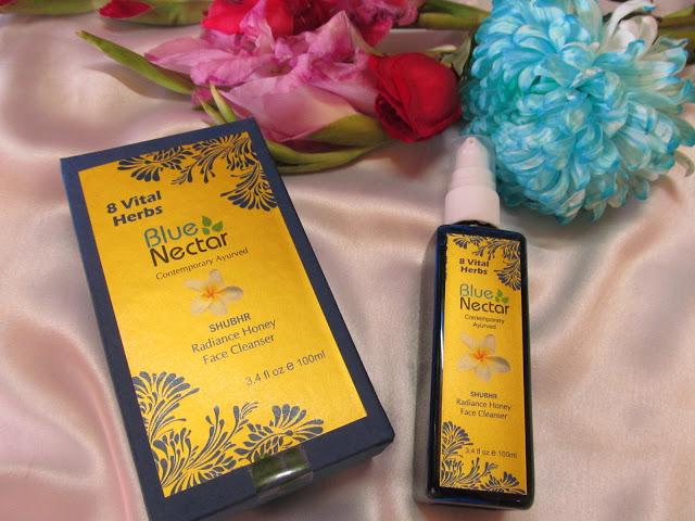 Blue-Nectar-Shubhr-Radiance-Honey-Cleanser-Review