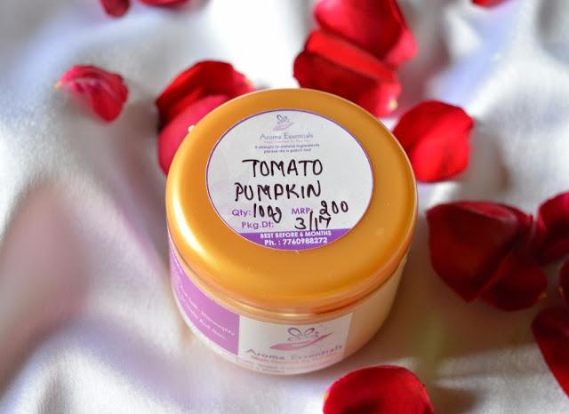 Aroma Essentials Tomato Pumpkin Shampoo