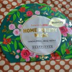 Dearpacker Home Remedy Sheet Mask Review: Sandalwood and Rose water