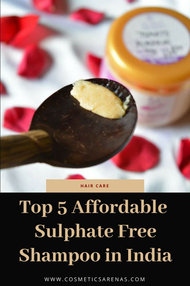 Top 5 Affordable Sulphate Free Shampoo in India Image