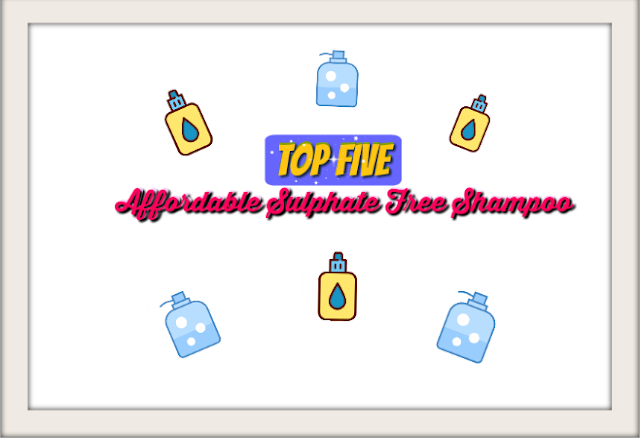 Top Five Affordable Sulphate Free Shampoo in India