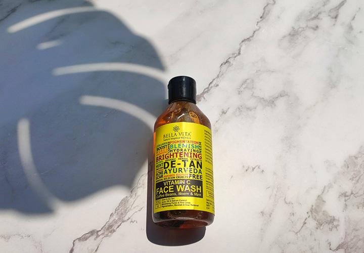 Bella Vita Organic Vitamin C Face Wash Best Chemical Free Face Wash in India