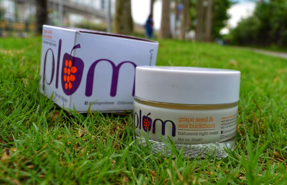 Plum GrapeSeed and Sea Buckthorn Night Cream Review