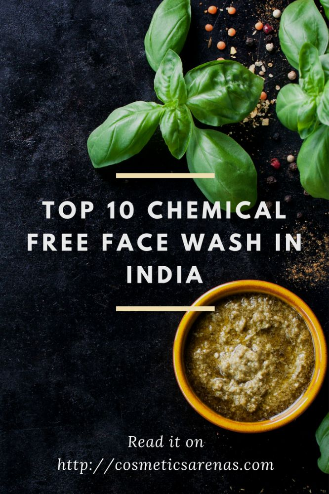Top 10 Chemical Free Face Wash in India Image