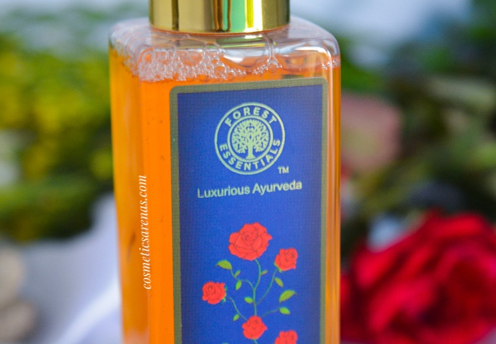 Forest Essentials Mashobra Honey, Lemon, and Rosewater