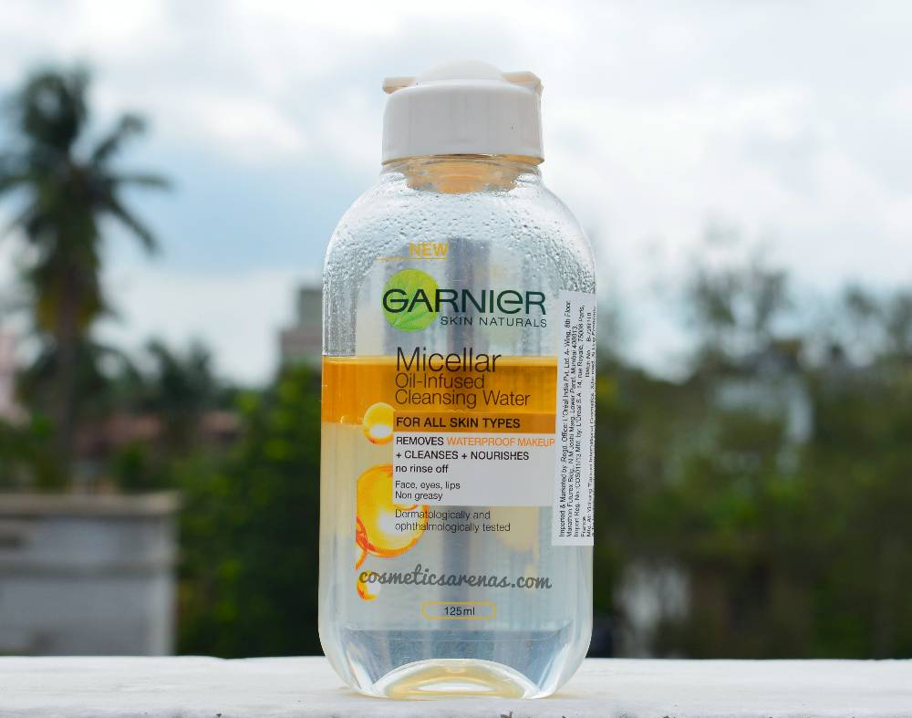 Garnier Micellar Oil Infused Cleansing Water Review