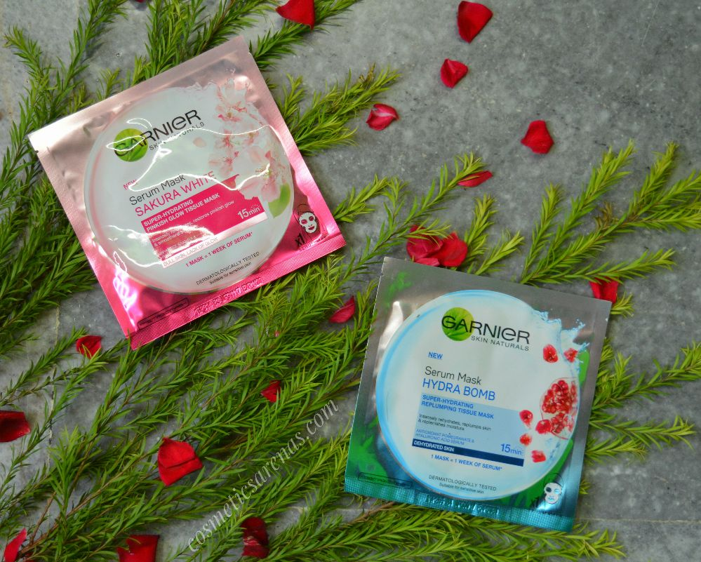 Garnier Sheet Masks Review
