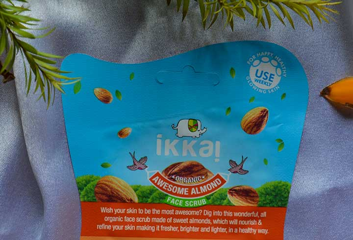 Ikkai by Lotus Herbals Almond Face Scrub Product Description