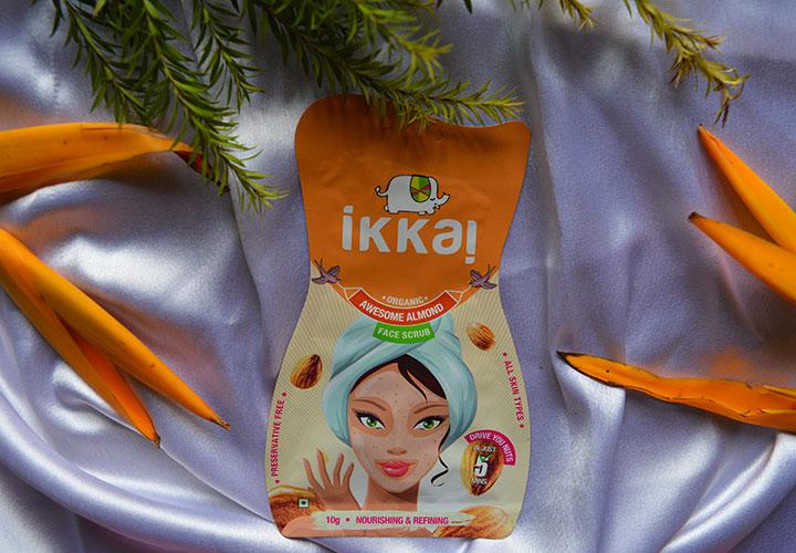 Ikkai by Lotus Herbals Almond Face Scrub Review
