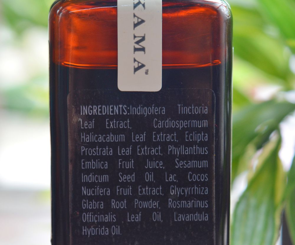 Kama Ayurveda Bringadi Intensive Hair Treatment Oil Ingredients