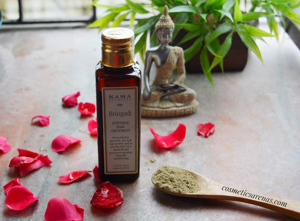 Kama Ayurveda Bringadi Intensive Hair Treatment Oil