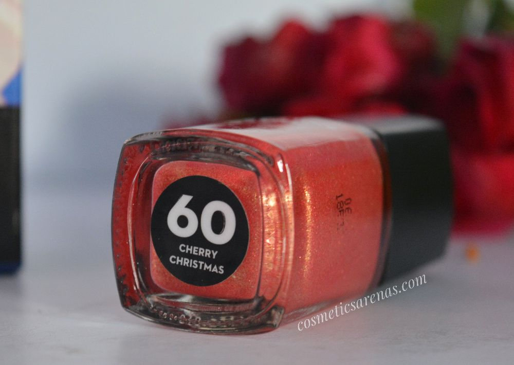 SUGAR Tip Tac Toe Nail Lacquer Pro Cherry Christmas