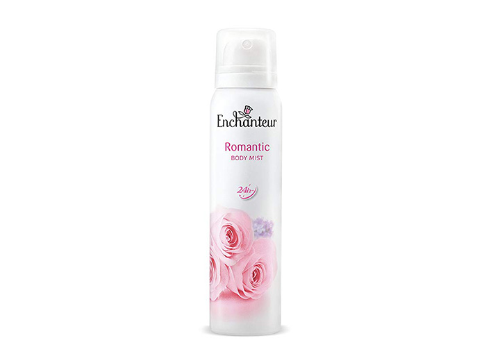 Enchanteur Romantic Body Mist For Women Best Body Mists in India