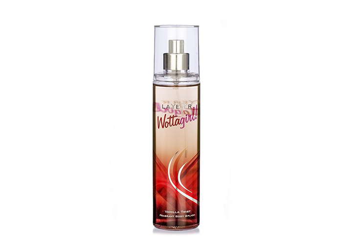 Layer'r Wottagirl Vanilla Twist Fragrant Body Splash Best Body Mists in India