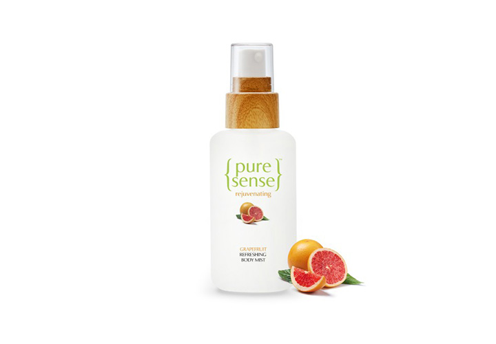 PureSense Refreshing Grapefruit Body Mist Best Body Mists in India