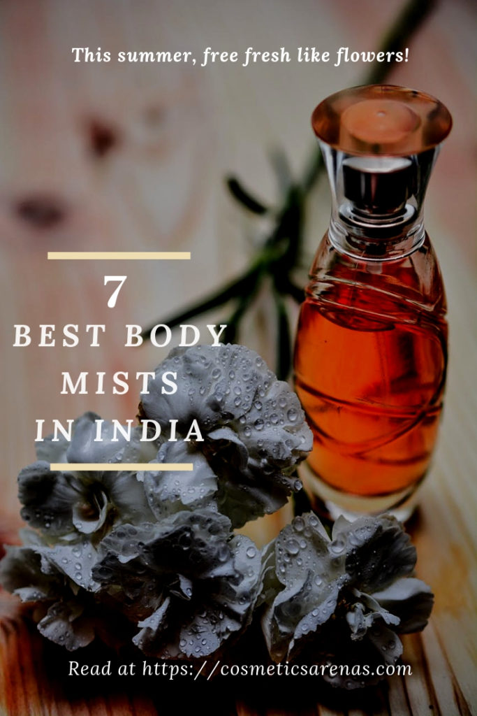 Best Body Mists in India Pinterest