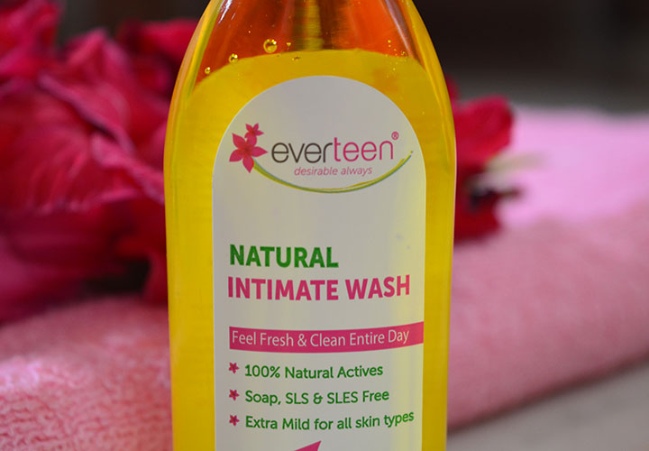 Everteen Natural Intimate Wash Product Description