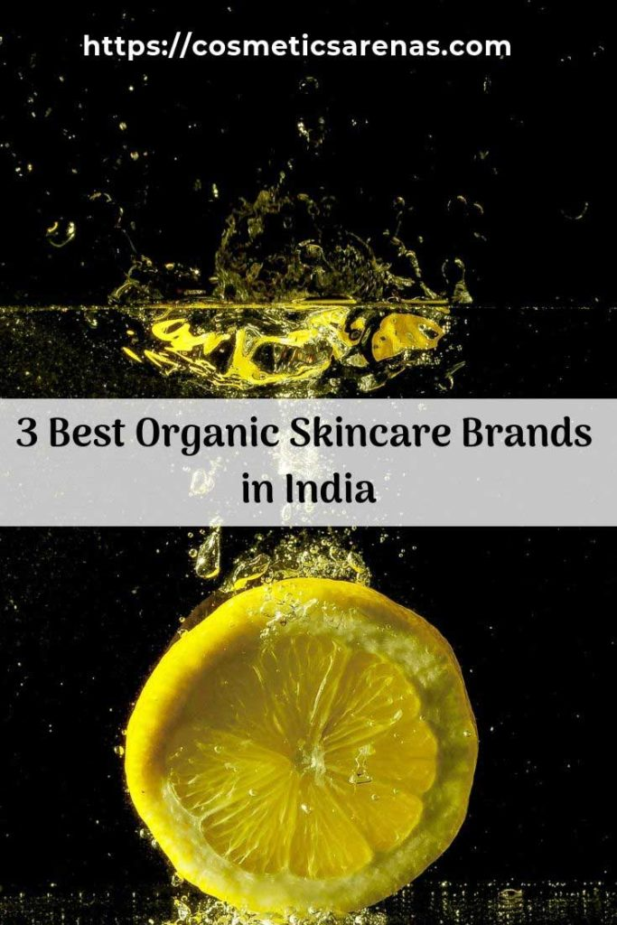 Best Organic Skincare Brands in India Pinterest
