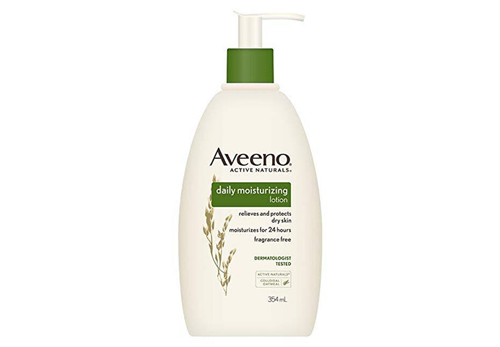 Best Body Lotions for Winter in India Aveeno Daily Moisturizing Lotion