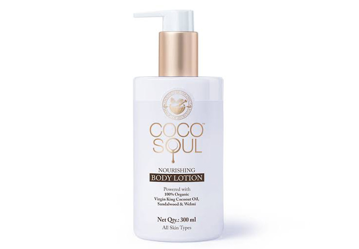 Best Body Lotions for Winter in India Coco Soul Nourishing Body Lotion With Virgin Coconut Oil