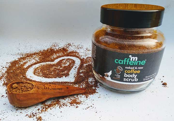 MCaffeine Naked and Raw Coffee Body Scrub