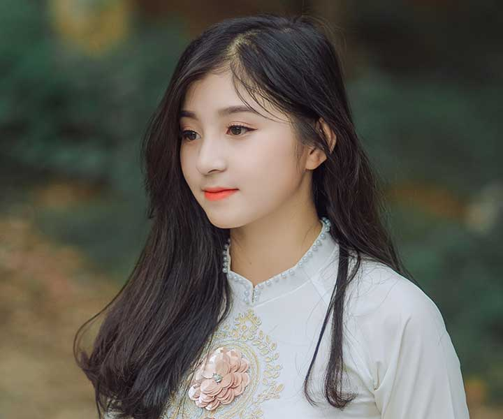 beautiful korean lady