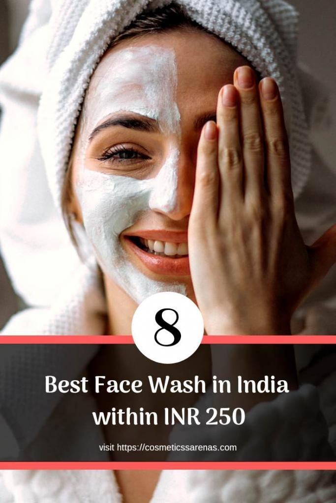 Best Affordable Face Wash in India Pinterest