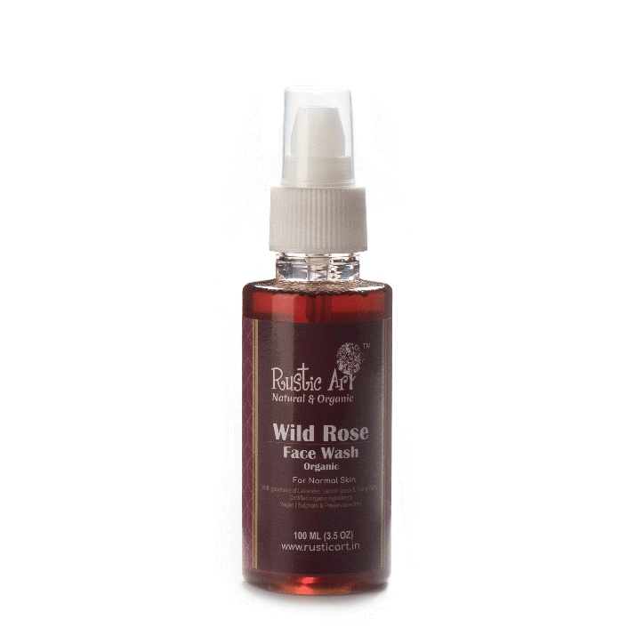 Best Face Wash in India within Rs. 250 Rustic Art Rose