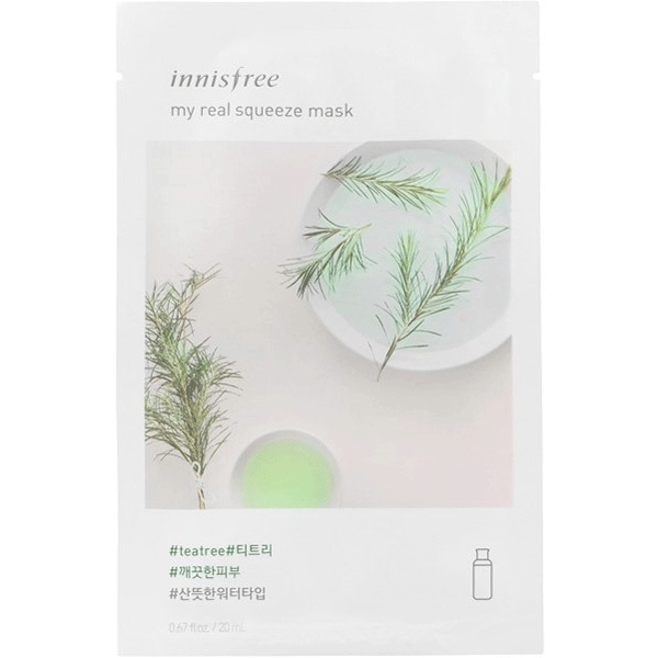 Innisfree Mask Tea Tree Best Sheet Masks in India