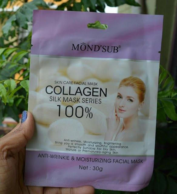 MondSub Collagen Mask Best Sheet Masks in India