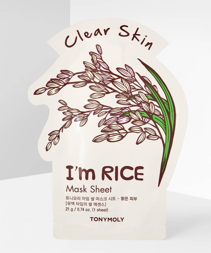 TONYMOLY I'M Rice Mask Sheet Best Sheet Masks in India