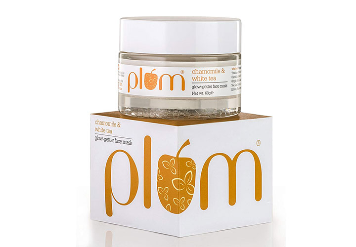 best chemical free face masks in India plum chamomile face mask