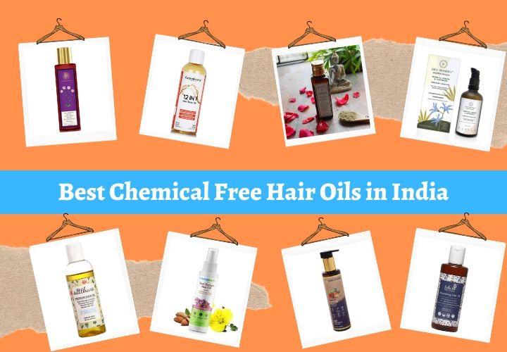 Best Chemical Free Hair Oils in India
