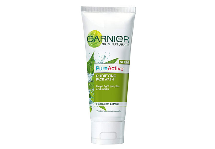 Garnier Pure Active Neem Face Wash Best Face Wash in India under Rs. 100