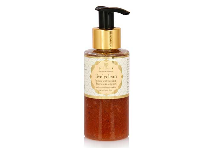 Just Herbs Honey Exfoliating Face Wash Best Face Wash for Dry Skin in India