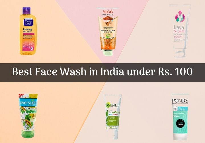 best face wash in India under Rs. 100