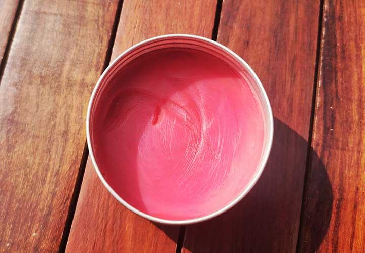 Deyga Beetroot Lip Balm Texture