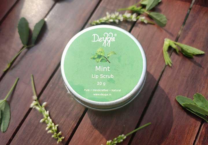Deyga Mint Lip Scrub Review