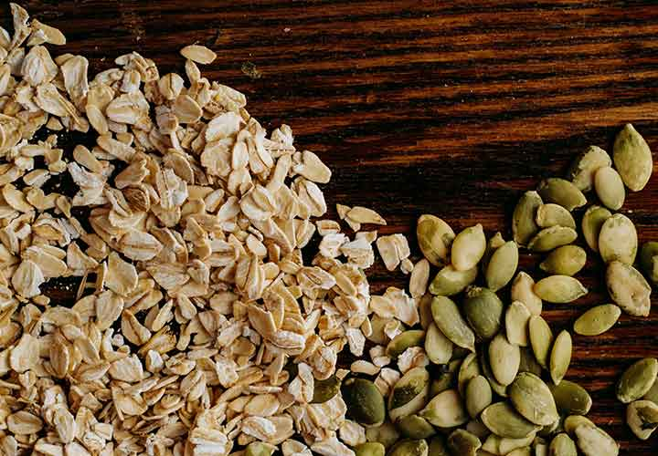 get rid of rashes using oats