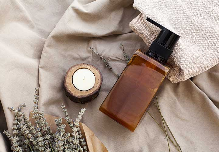 get rid of rashes with lavender essential oil