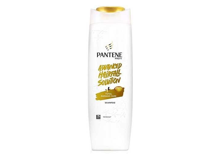 Best Affordable Anti Hair Fall Shampoos in India Pantene Advanced Hair Fall Solution Hair Fall Control Shampoo
