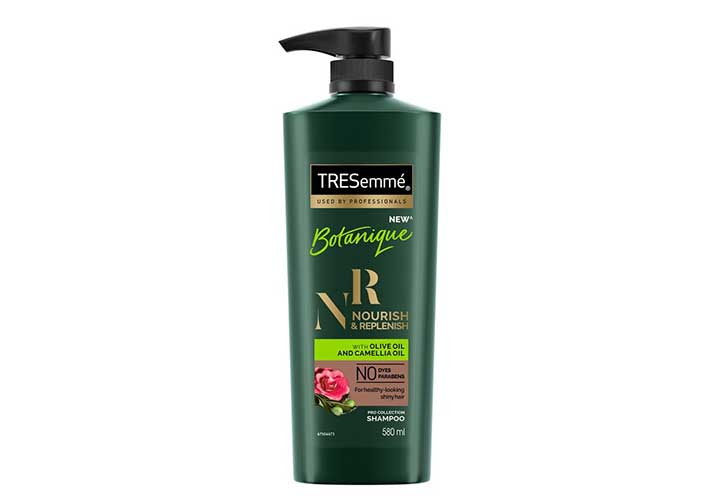 Best Affordable Anti Hair Fall Shampoos in IndiaTresemme Botanique Nourish & Replenish Shampoo
