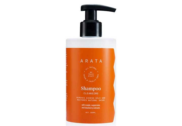 Best Anti Hair Fall Shampoos in India Arata Shampoo