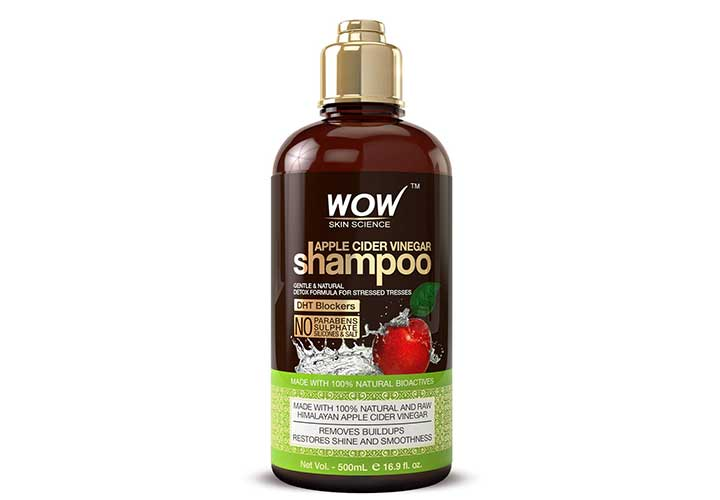 Best SLS Free Shampoos in India WOW Skin Science Apple Cider Vinegar Shampoo