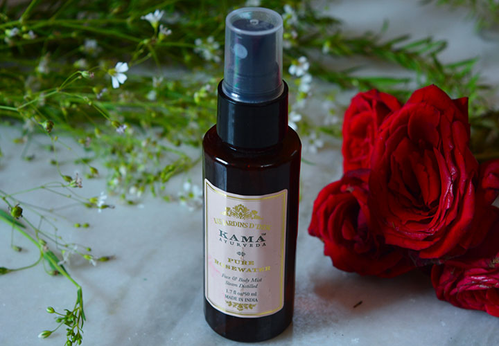 Kama Ayurveda Pure Rose Water Best Toners in India that are Affordable, Harsh Chemical Free, and Alcohol Free