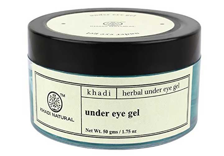 Khadi Natural Under Eye Gel Best Under Eye Gels in India to Treat Puffiness