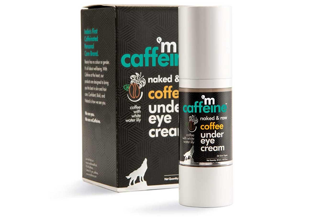 MCaffeine Naked & Raw Coffee Under Eye Cream Best Under Eye Creams in India