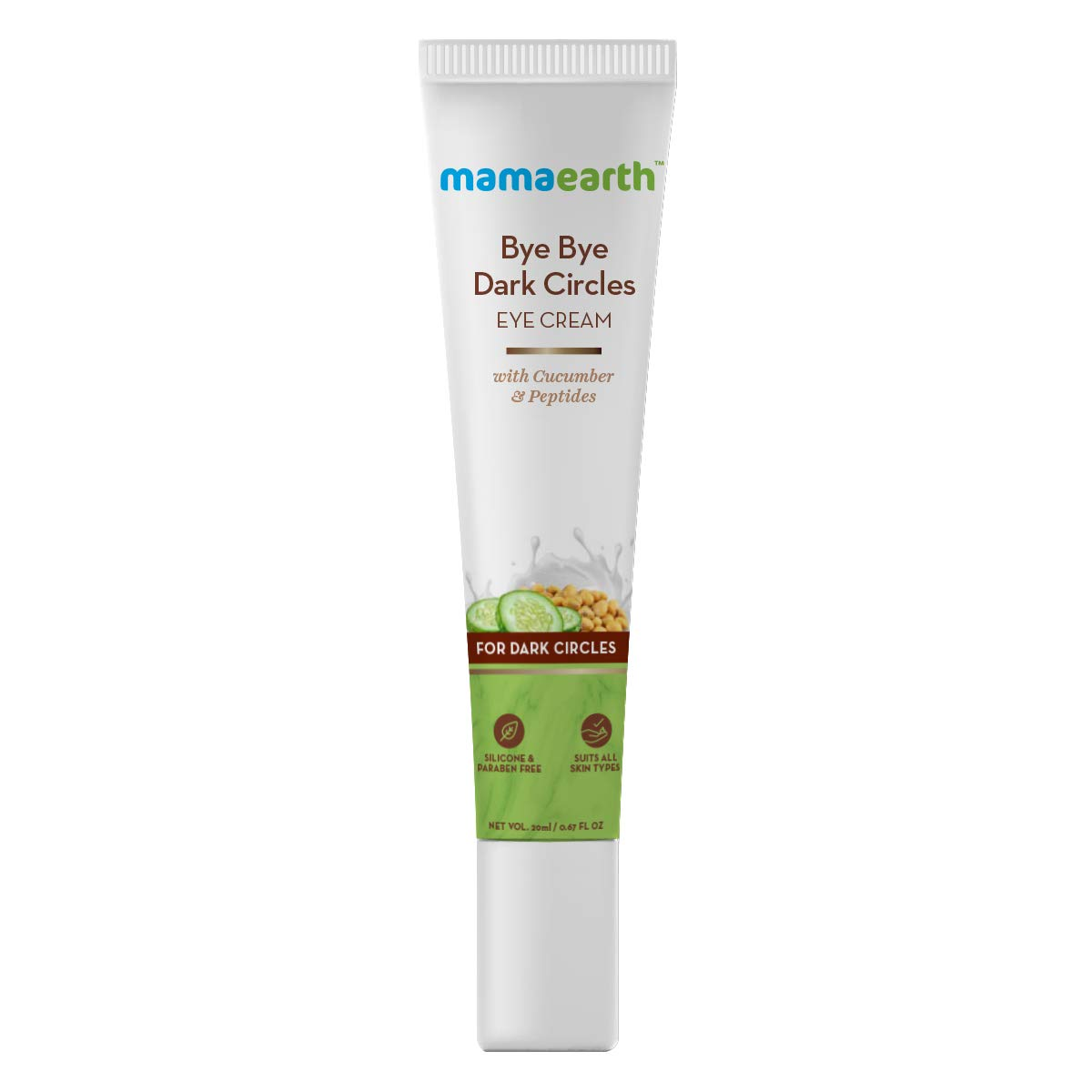 Mamaearth Bye Bye Dark Circles Eye Cream Best Under Eye Creams in India