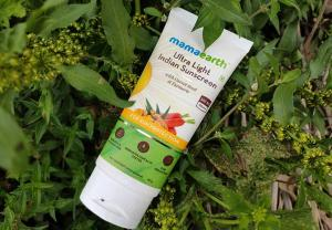 Mamaearth Ultra Light Indian Sunscreen SPF 50 PA+++ Review