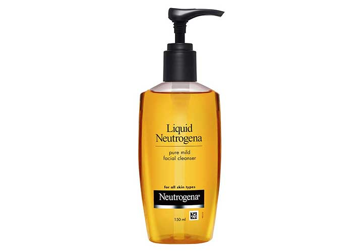 Neutrogena Mild Face Cleanser Best Face Wash for Dry Skin in India